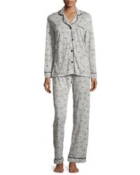 Cosabella - Multicolor Bella Printed Long-sleeve Pajama Set - Lyst