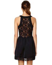 Nasty Gal - Black Lacie Tank Dress - Lyst