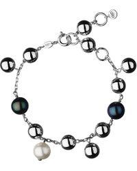 Links of London - Metallic Effervescence Sterling Silver Pearl Bracelet - For Women - Lyst
