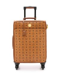 MCM - Brown Trolly Cabin Luggage Case - Cognac - Lyst
