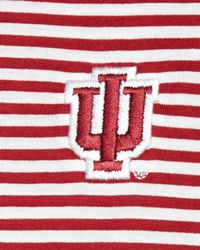 Peter Millar - White Indiana University Striped Gameday College Polo Shirt for Men - Lyst