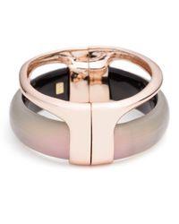 Alexis Bittar - Pink Liquid Stacked Hinge Bracelet - Lyst