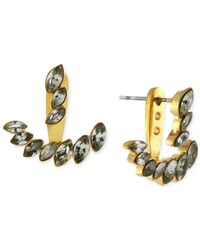 Vince Camuto | Metallic Marquis Ear Jacket Earrings | Lyst