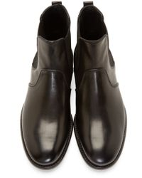Dolce & Gabbana | Black Chelsea Milano Boots for Men | Lyst