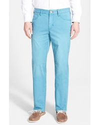 Tommy Bahama | Blue Denim 'montana' Straight Leg Pants for Men | Lyst