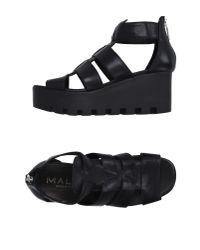 Mally - Black Sandals - Lyst