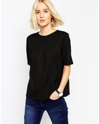 ASOS | Black The Ponte Top | Lyst