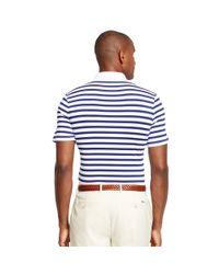 Ralph Lauren | White Striped Polo Shirt for Men | Lyst
