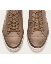 Frye | Gray Greene Low Lace for Men | Lyst