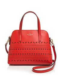 kate spade new york - Red Satchel - Lillian Court Maise - Lyst
