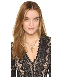 Vanessa Mooney | Metallic The Crossroads Necklace | Lyst
