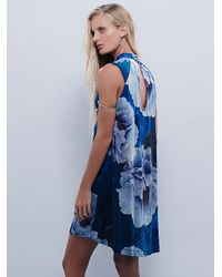 Free People | Blue Womens Silverlake Dress | Lyst