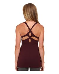 Beyond Yoga | Red Cutout Cami | Lyst