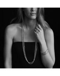 David Yurman | Metallic Venetian Quatrefoil Necklace With Opal And Diamonds In 18k Gold | Lyst