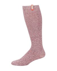 HUNTER | Multicolor Knee-hi Boot Socks | Lyst