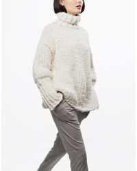 Wool And The Gang | White Sonic Sweater | Lyst