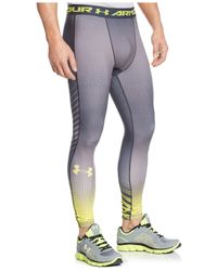 Under Armour | Gray Exo Heatgear Compression Leggings for Men | Lyst