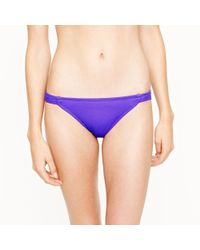 J.Crew | Purple Tapered Hipster | Lyst