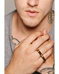 Forever 21 - Metallic Men Vitaly Freunde Ring for Men - Lyst