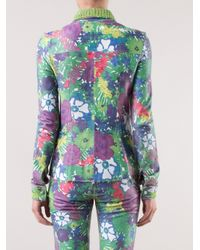 Patricia Viera - Green Floral Print Shirt - Lyst