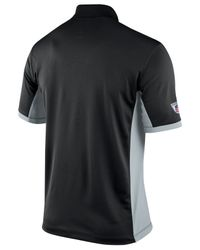 Lyst Nike Men 39 S Oakland Raiders Team Issue Polo In Black