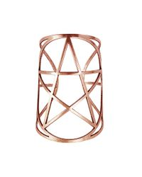 Pamela Love | Metallic Mini Pentagram Cuff In Rose Gold | Lyst