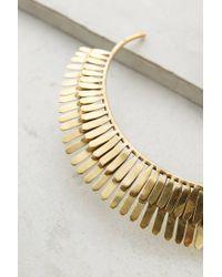 Anthropologie - Metallic Iluminada Collar Necklace - Lyst