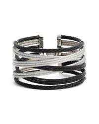 Alor | Black Wide Woven Bracelet | Lyst