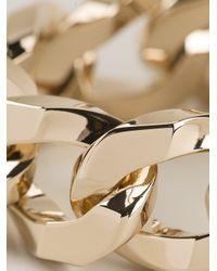 Givenchy - Metallic Chunky Chain Bracelet - Lyst