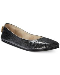French Sole | Black Merci Flats | Lyst