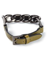 Valentino | Green Chain Bracelet for Men | Lyst