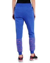 Adidas By Stella McCartney - Blue Casual Trouser - Lyst