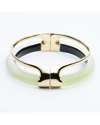 Alexis Bittar - Multicolor Double Band Liquid Hinge Bracelet - Lyst