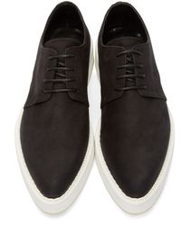 McQ - Black Glyph Logo Patch Slip-on Sneakers for Men - Lyst