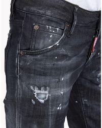 DSquared² - Black Denim Pants - Lyst
