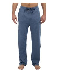 Tommy Bahama | Blue Yarn Dye Knit Herringbone Lounge Pant for Men | Lyst