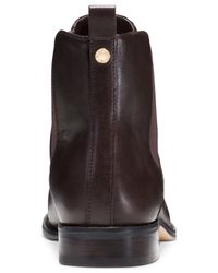 Michael Kors | Brown Michael Thea Chelsea Booties | Lyst