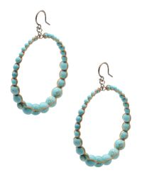 Chan Luu - Blue Earrings - Lyst