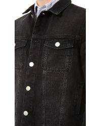 Won Hundred - Black Four Denim Jacket for Men - Lyst