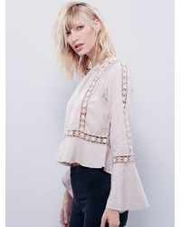 Free People - Natural Womens Everyday Fairytale Top - Lyst