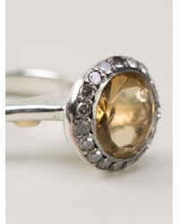 Rosa Maria | Yellow 'beril' Ring | Lyst