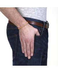 Lulu Frost - Brown George Frost G. Frost Wooden Morse Bracelet Saffron for Men - Lyst