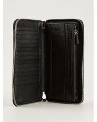 Fendi - Blue Zip Around Wallet for Men - Lyst