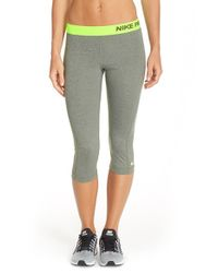 Nike | Green Pro Hypercool Dri-Fit Leggings | Lyst