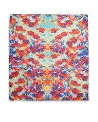 Bindya - Multicolor Bouquet Painterly Printed Silk Cashmere Scarf - Lyst