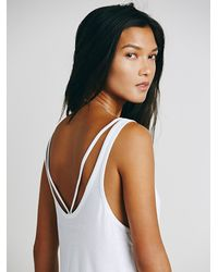 Free People | White We The Free Womens We The Free Maui Tank | Lyst