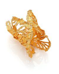 Alexander McQueen | Metallic Wrap Bracelet | Lyst
