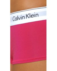 Calvin Klein Multicolor Modern Cotton Boy Shorts