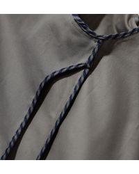 Sunspel | Gray Men's Cotton Twill Harrington Jacket for Men | Lyst
