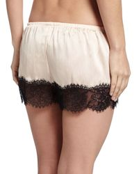 Underella By Ella Moss - Natural Leighton Lace-trim Tap Lounge Pants - Lyst
